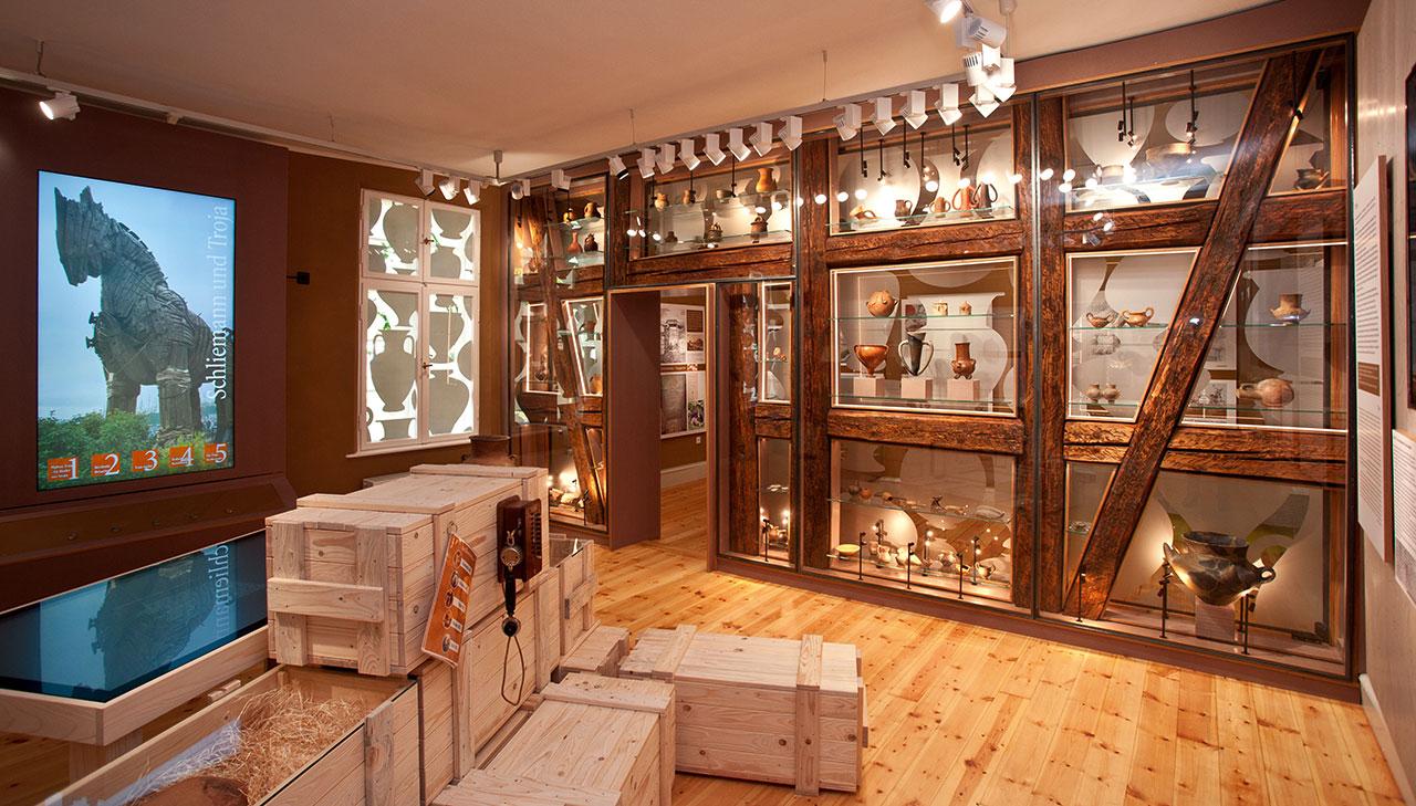Das Heinrich-Schliemann-Museum – Zurück zu den Wurzeln
