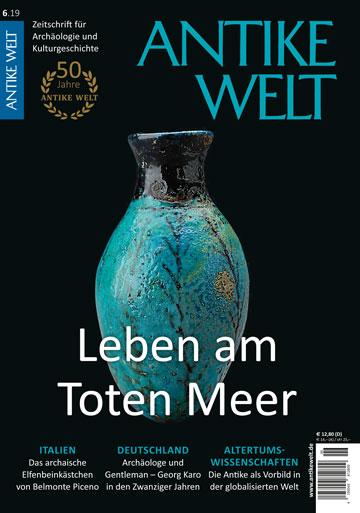 Cover_Antike Welt 6_2019_Leben am Toten Meer