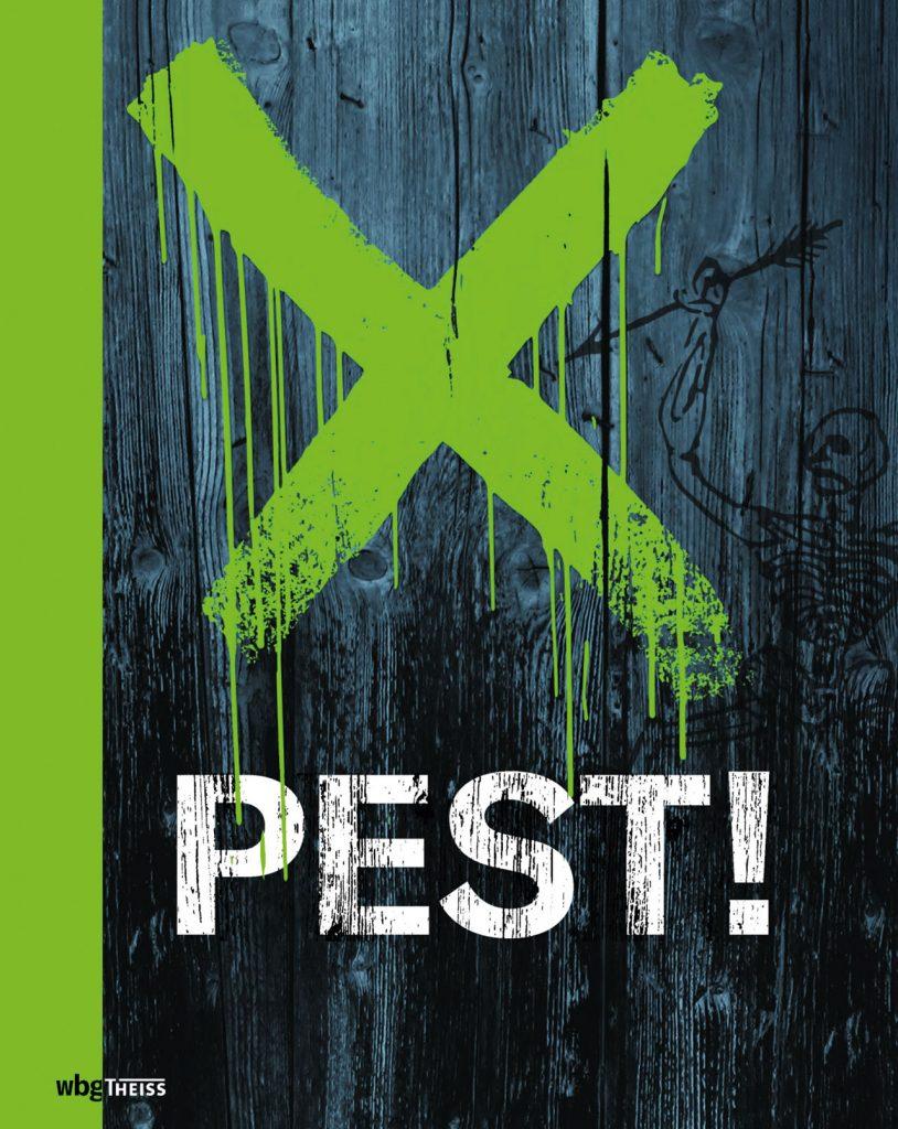 Cover Ausstellungskatalog Pest!