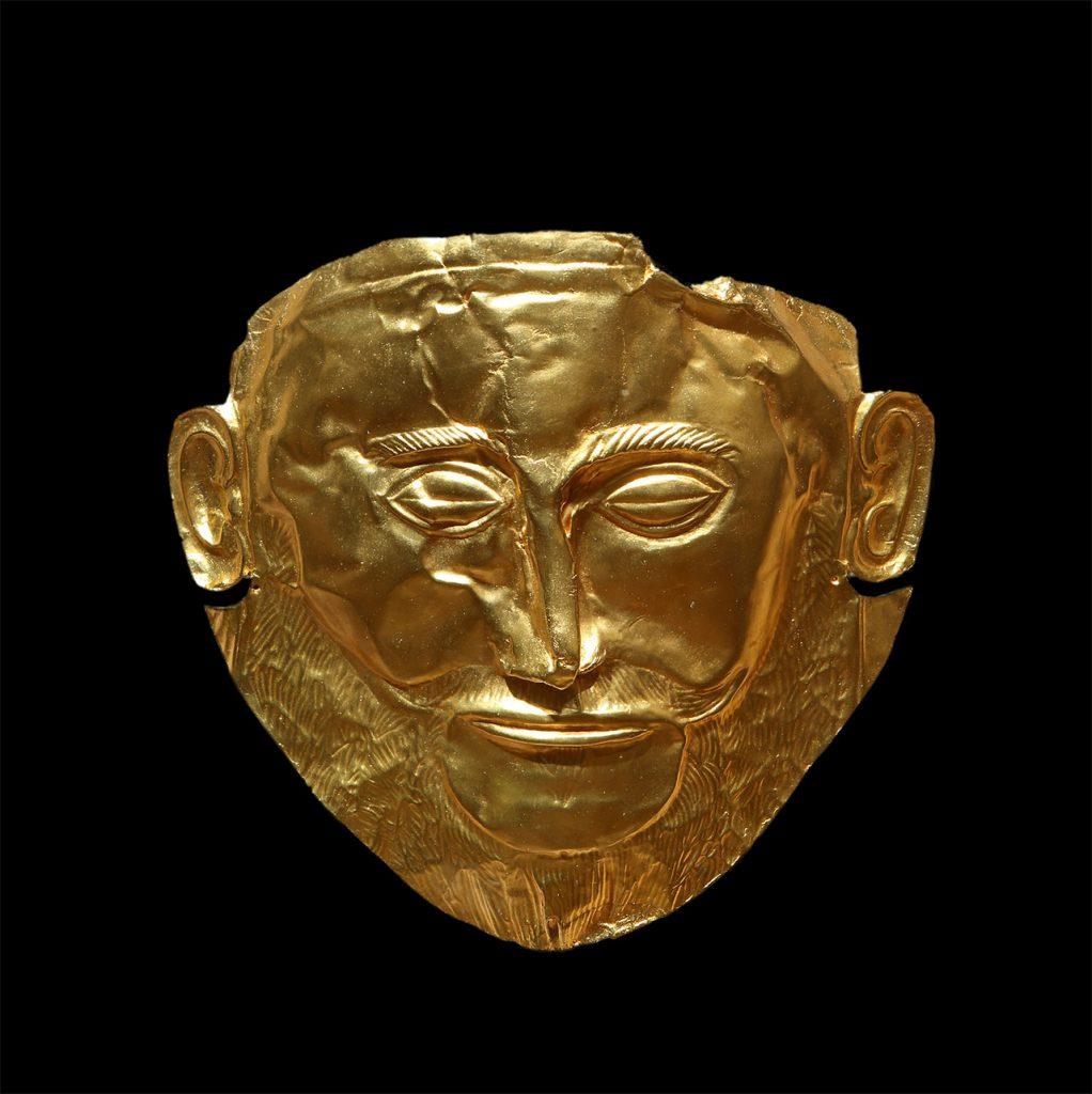 Maske des Agamemnon