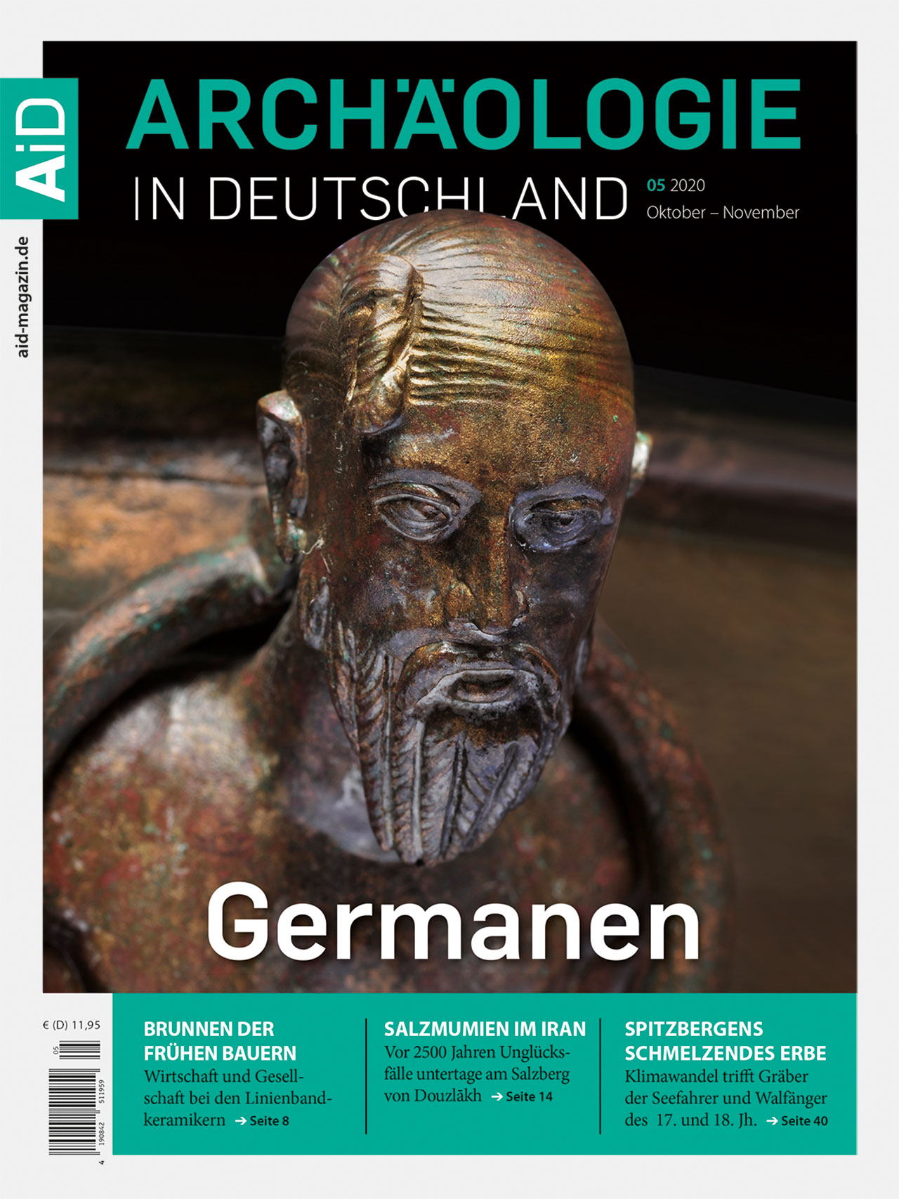 Cover_AiD_520 Titelthema Germanen