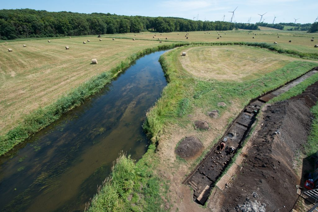 Die Ausgrabungen an der Tollense finden seit fast 10 Jahren statt.