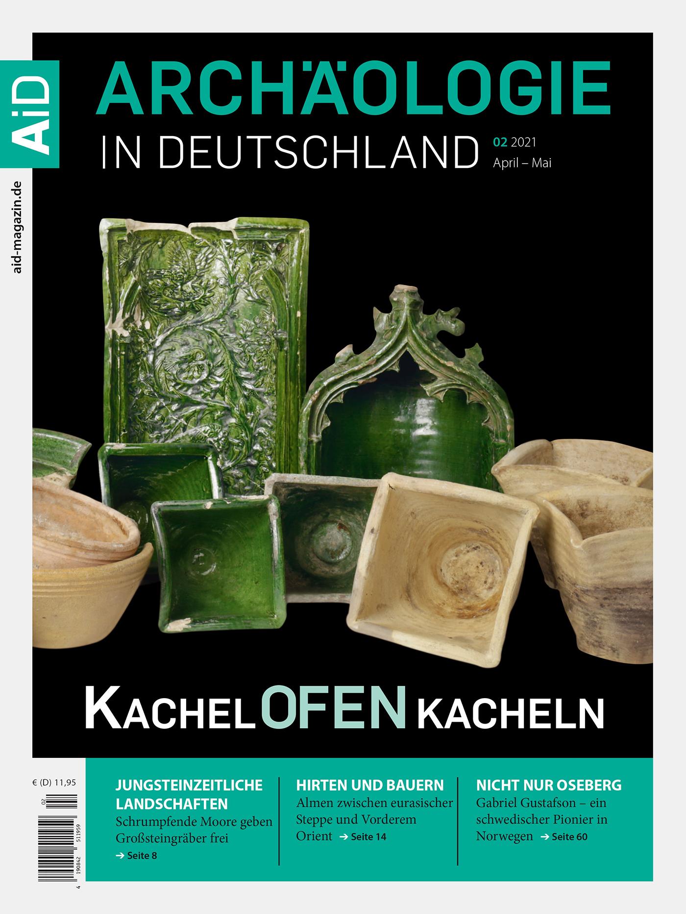 KachelOFENKacheln – Archäologie in Deutschland Heft 2/21
