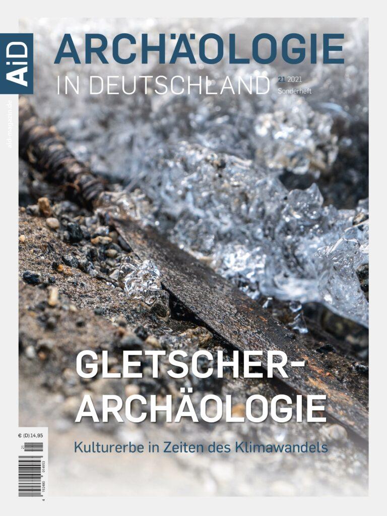 Cover ArD-Sonderheft Gletscherarchäologie