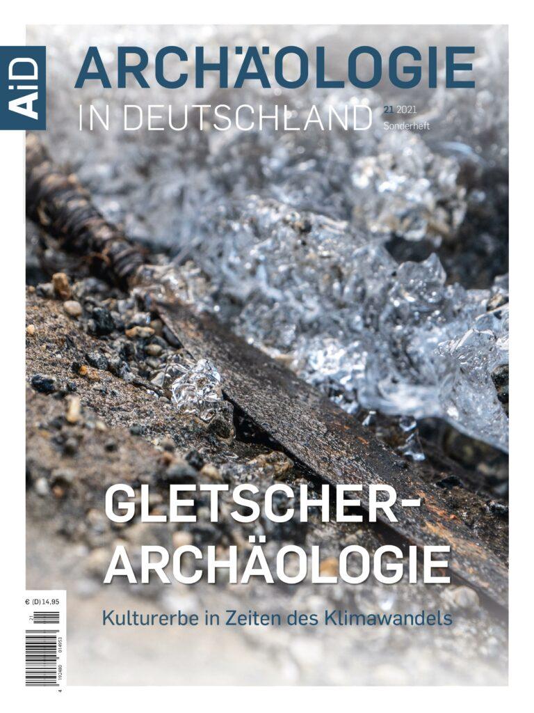 Cover des AiD-Sonderhefts Gletscherarchäologie