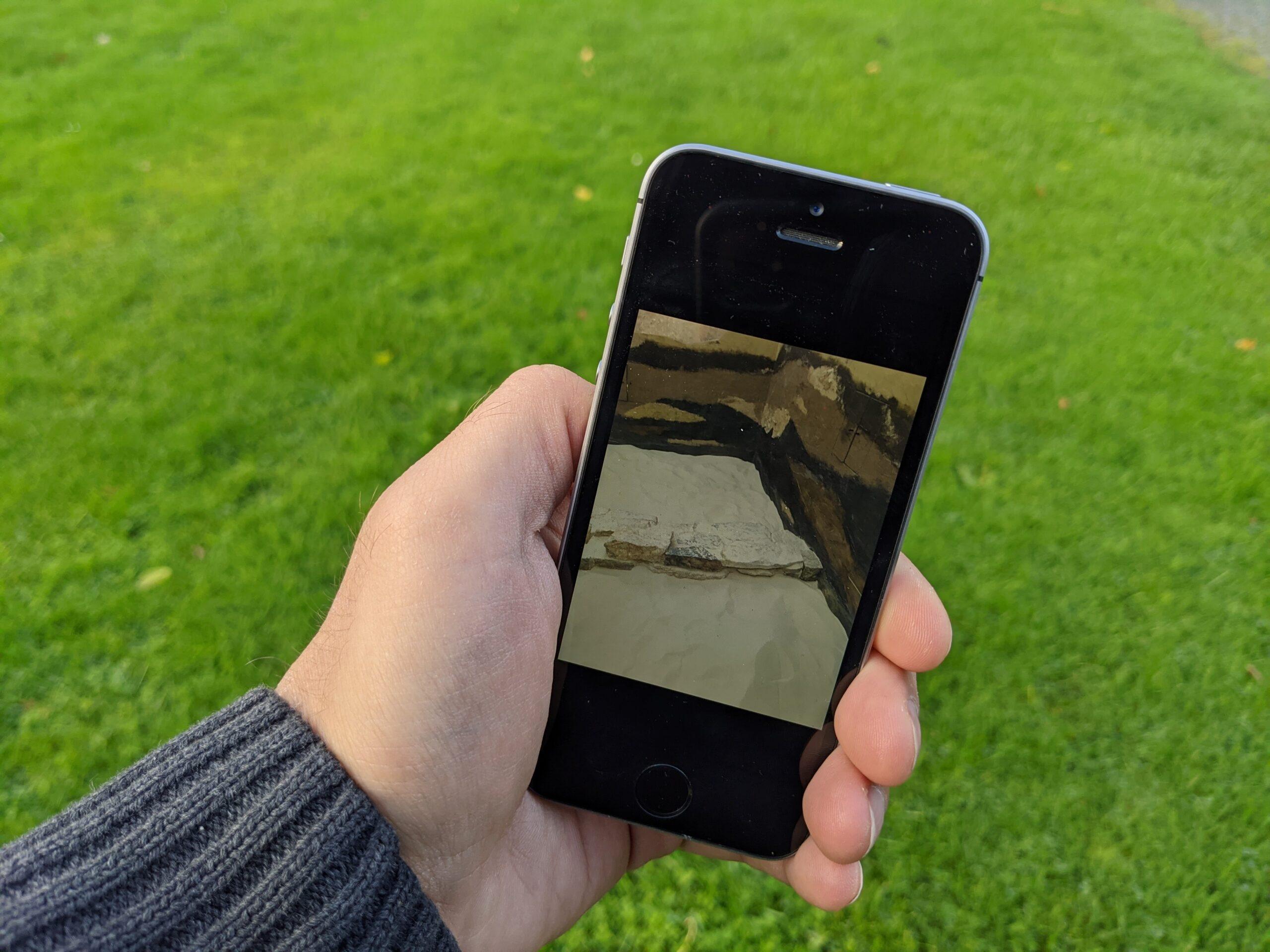 Digitale Archäologievermittlung mit Actionbound