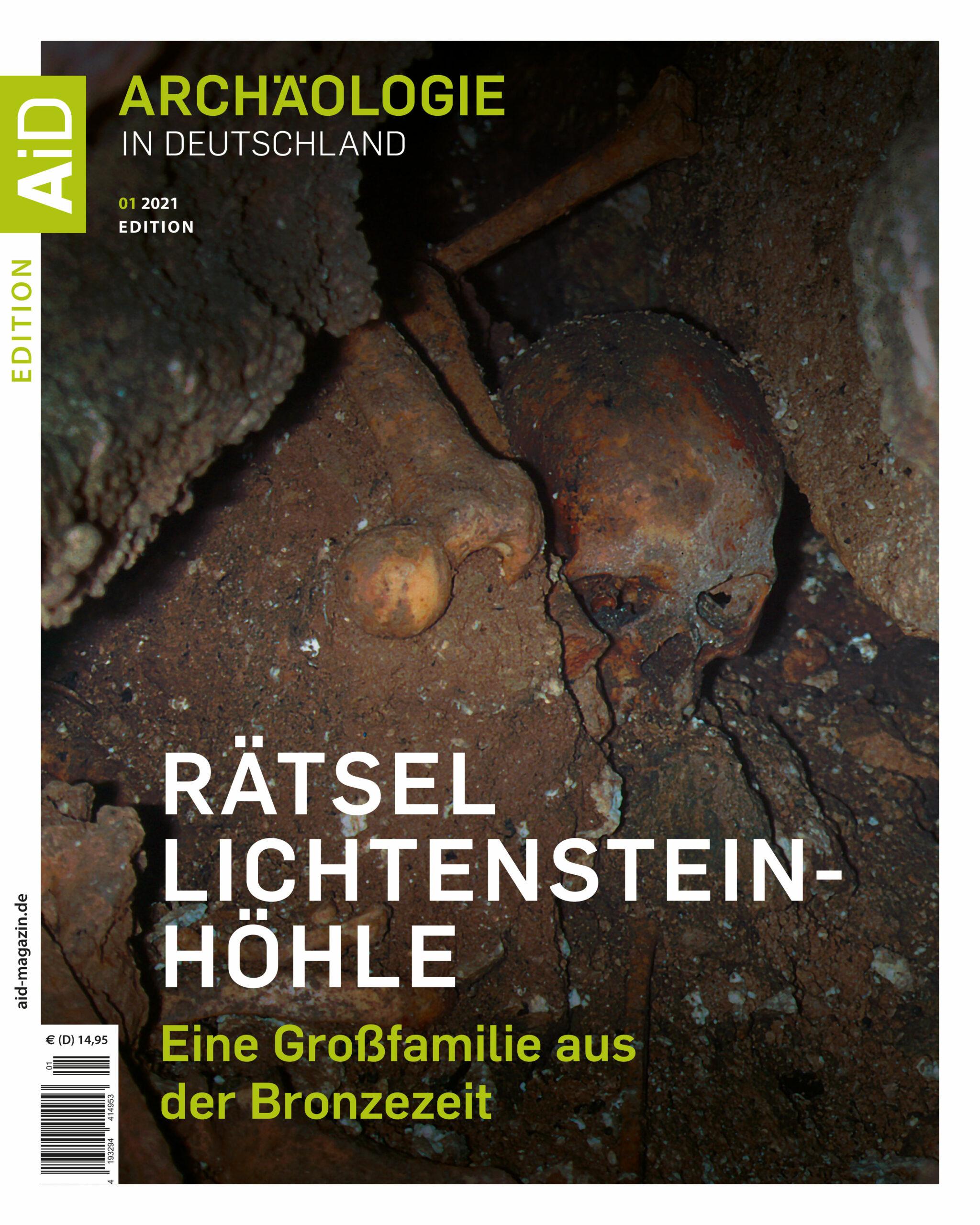 »Rätsel Lichtensteinhöhle« – Edition AiD 1/2021