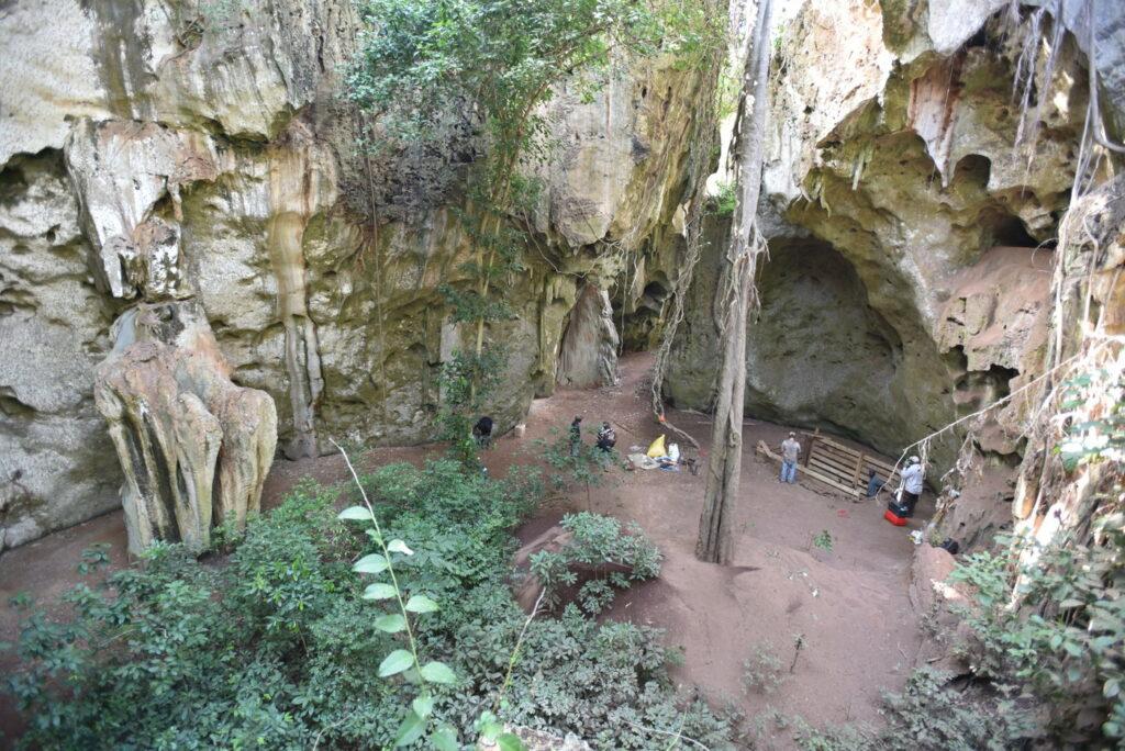 Die Pangy ya Saidi-Höhle an der Küste Kenias.