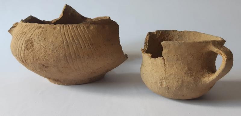 Keramikfunde aus der Lausitzer Kultur (Foto: Lubuski Wojewódzki Konserwator Zabytków)