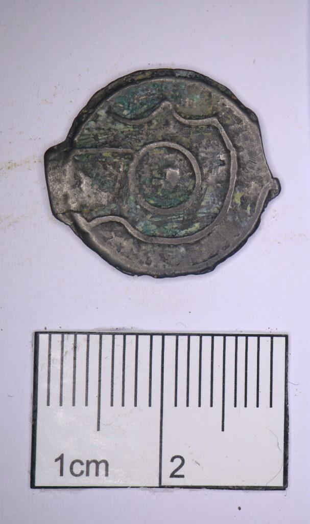 Münze mit Kopf des Apollo (Credit: HS2)