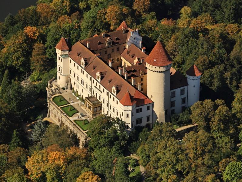 Schloss Konopiště, Benešov, Tschechische Republik, 2011.