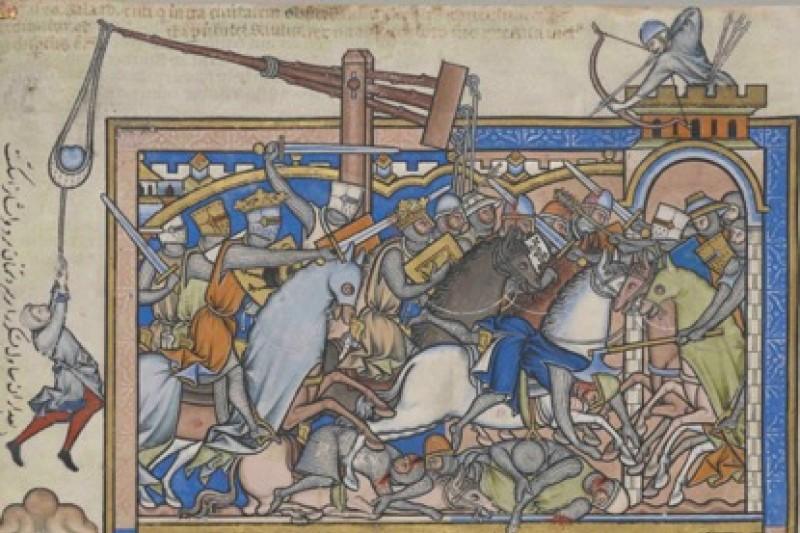Darstellung einer Schlacht