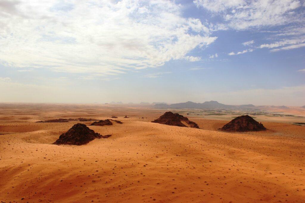 Die Jubbah Oase im nördlichen Saudi-Arabien