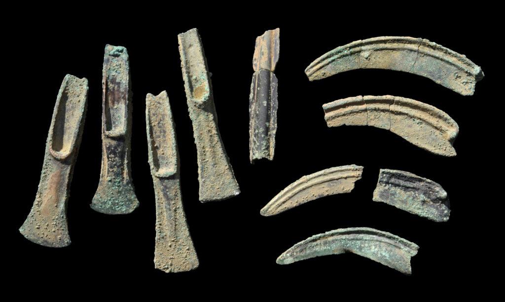 Sammelaufnahme der Funde aus Fahrdorf