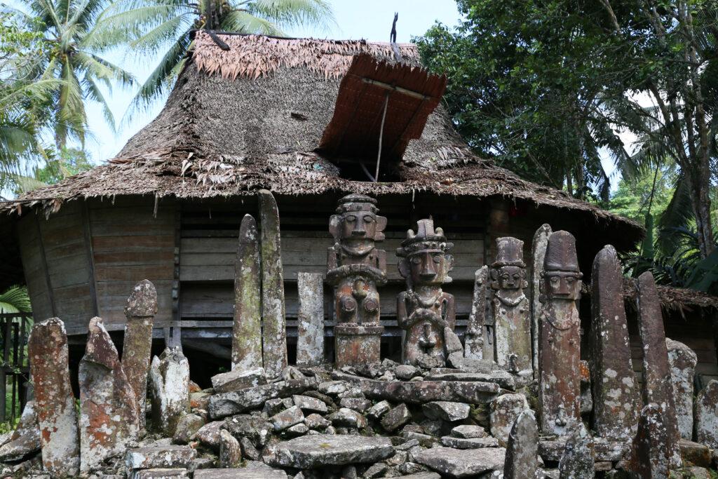Eine öffentliche Ringvorlesung gibt Einblicke in archäologische Feldarbeit, etwa in die Forschung zu diesen Zeugen der Megalithkultur in Bitaha (Indonesien).